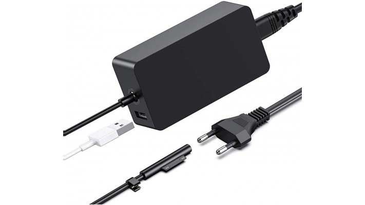 CABLE ALIMENTATION 65W SURFACE PRO 3-4