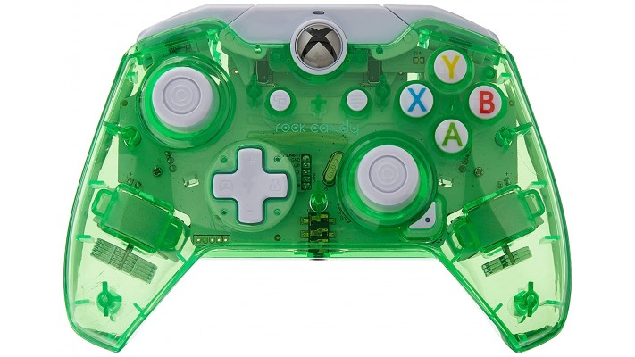 Manette filaire Rock Candy pour Xbox One - Aqualime