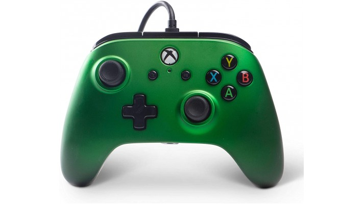 Manette Power A filaire pour Xbox One Vert