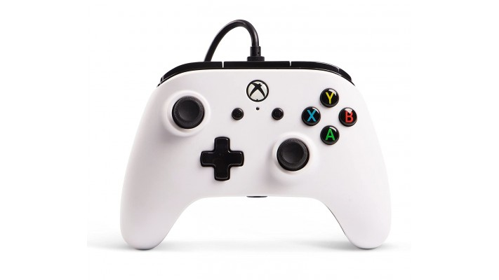 Manette Power A filaire pour Xbox One Blanc